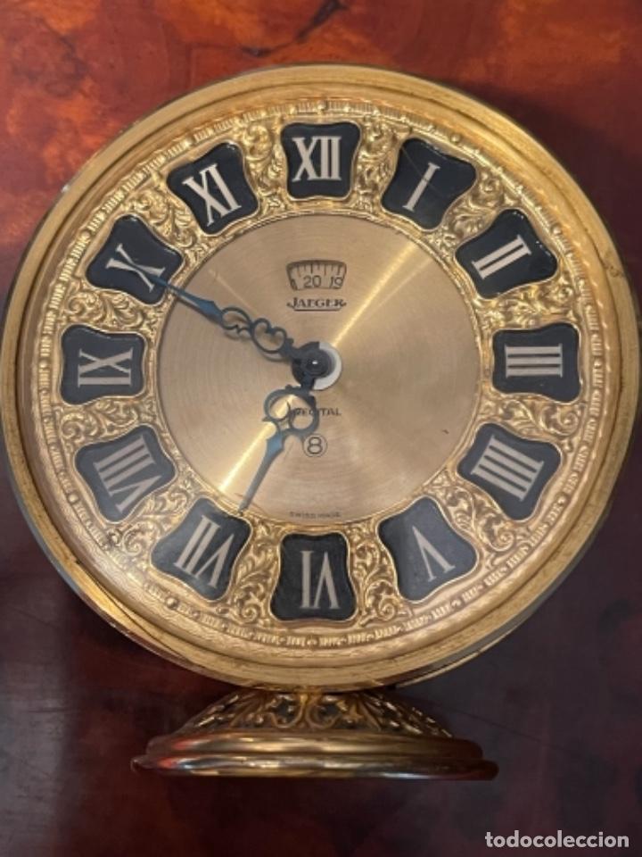 Relojes de carga manual: Reloj de viaje - Jaeger LE COULTRE RECITAL 8 colores oro - Segunda mitad del siglo XX - Foto 26 - 277464683