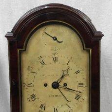 """Horloges à remontage manuel: RELOJ DE SOBREMESA """"BRACKET"""" INGLÉS, JORGE III, DE FINALES DEL SIGLO XVIII. CAJA EN CAOBA.. Lote 277470738"""