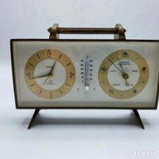 Orologi di carica manuale: RELOJ DE SOBREMESA SWIZA. CON TERMÓMETRO Y BARÓMETRO. VER FOTOS. Lote 277677903