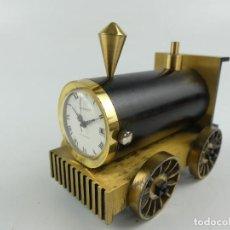 Relojes de carga manual: RELOJ DE SOBREMESA OBERON ANTIMAGNETIC LOCOMOTORA. Lote 277720308
