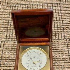 Horloges à remontage manuel: RELOJ CRONOMETRO MARINO-RICKMAN . CON HIGROMETRO Y TERMÓMETRO, , DE 1980 , MADE IN SPAIN. Lote 278207478