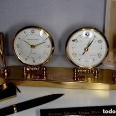 Relojes de carga manual: CONJUNTO DE RELOJ BAROMETRO PHINNEY WALKER 1959. Lote 278921018