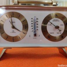 Relojes de carga manual: RELOJ SWIZA 8 DIAS DE SOBREMESA CON FUNCION DESPERTADOR Y BARÓMETRO. Lote 280684978