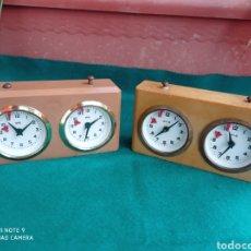 Relógios de carga manual: RELOJ AJEDREZ BHB MADE IN GERMANY LOTE DE 2 UNID.. Lote 281969263