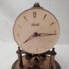 Relógios de carga manual: ANTIGUO RELOJ KUNDO 400 DÍAS DE CUERDA. Lote 285320083