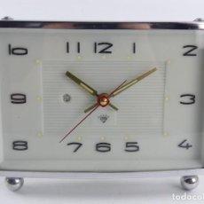 Orologi di carica manuale: VINTAGE RELOJ DE CUERDA DESPERTADOR DIAMANTE. Lote 286766203