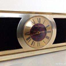 Horloges à remontage manuel: RELOJ DE SOBREMESA SWIZA 8 MECANICO SWISS MADE. Lote 287895823