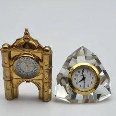 Relojes de carga manual: LOTE RELOJES MESA ( VER FOTOS ). Lote 288034433