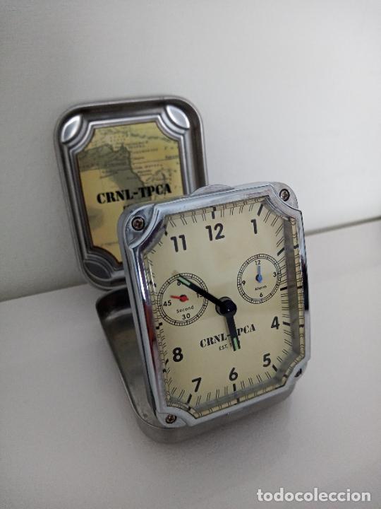 Relojes de carga manual: RELOJ DE VIAJE DE SOBREMESA QUARZO - Foto 2 - 288203748