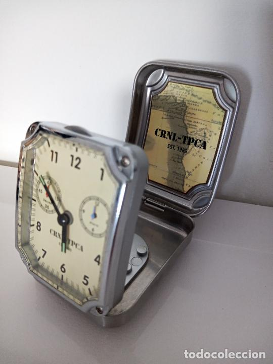 Relojes de carga manual: RELOJ DE VIAJE DE SOBREMESA QUARZO - Foto 3 - 288203748