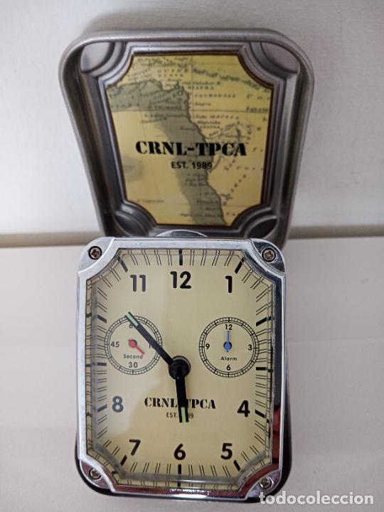 RELOJ DE VIAJE DE SOBREMESA QUARZO (Relojes - Sobremesa Carga Manual)