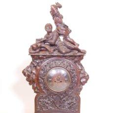 Relojes de carga manual: LARGE WOODEN BLACK FOREST. CLOCK. Lote 288439033