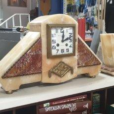 Relojes de carga manual: IMPRESIONANTE RELOJ MAQUINARIA PARIS 45X27CM. Lote 289468468