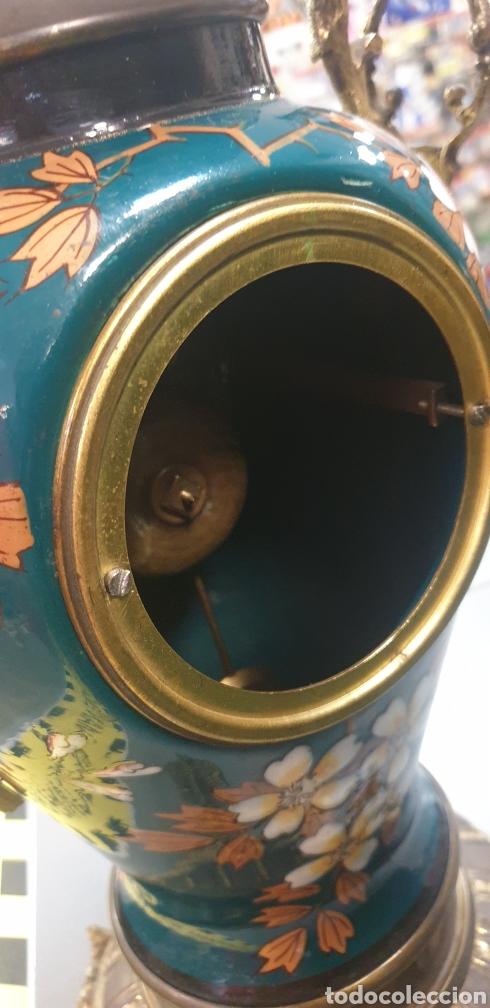 Relojes de carga manual: Impresionante Reloj Frances .Máquina Paris 54cm de altura - Foto 3 - 289469698