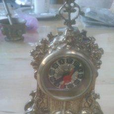 Relojes de carga manual: PRECIOSO RELOJ DE BRONCE, DE PILA, FUNCIONANDO. Lote 289601653