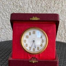 Relógios de carga manual: RELOJ 8 DAYS BARCO AVION CARGA MANUAL CAJA ORIGINAL FUNCIONA POCO USO 12X12X4CMS. Lote 290926553