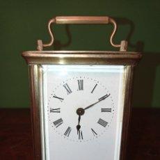 Relógios de carga manual: ANTIGUO RELOJ DE CARRUAJE. Lote 291511433