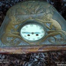 Relógios de carga manual: RELOJ ART DÉCO, BRONCE. Lote 294036528