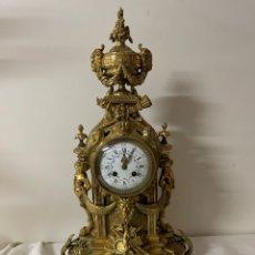 Relojes de carga manual: RELOJ FRANCES DE SOBREMESA DE BRONCE. NAPOLEON III. S.XIX.. Lote 295476823