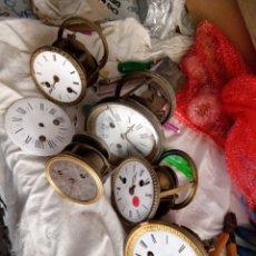 Relógios de carga manual: LOTE DE MAQUINARIAS RELOJES PARIS. Lote 295767723
