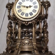 Relojes de carga manual: ANTIGUO RELOJ MERCEDES EN BRONCE 40X25. Lote 297028923