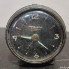 Relojes de carga manual: ANTIGUO RELOJ DESPERTADOR DIEHL-DILETTA LA SONERIA FUNCIONA LAS AGUJAS NO SE VENDE PARA REVISAR. Lote 297073293
