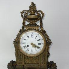 Relojes de carga manual: RELOJ FRANCES DE SOBREMESA EN BRONCE. NAPOLEON III. S.XIX.. Lote 297257728
