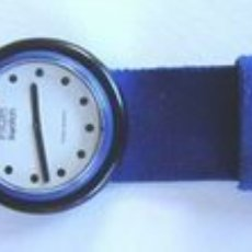 Relojes - Swatch: ORIGINAL SWATCH LÍNEA POP 1983 AZUL. Lote 44742949