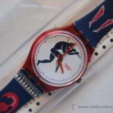 Relojes - Swatch: RELOJ SWATCH CRONO PARA COLECCIONISTAS, AÑO 90, MODELO TEDOPHORUS.. Lote 111589146