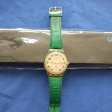 Relojes - Swatch: RELOJ SWATCH - SWISS - CARCASA TRANSPARENTE, SE VE LA MAQUINARIA - NUMEROS COLOR VERDE - SIN PILA. Lote 25105052