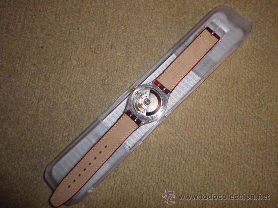 Relojes - Swatch: RELOJ DE PULSERA AUTOMATICO SWATCH DE COLECCION AÑO 1995 MODELO MAGIC TOOL NUEVO A ESTRENAR - Foto 3 - 215370875