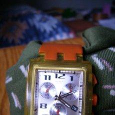 Relojes - Swatch: MAGNIFICO SWATCH AÑO 2000 PRECIOSO FUNCIONANDO PERFECTAMENTE 4CMX3. UNICO COLECCION. Lote 34403523