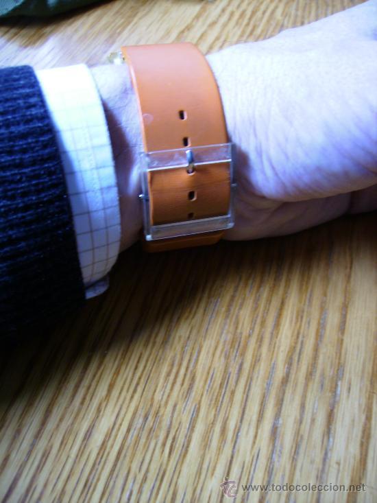 Relojes - Swatch: magnifico swatch año 2000 precioso funcionando perfectamente 4cmx3. unico coleccion - Foto 4 - 34403523