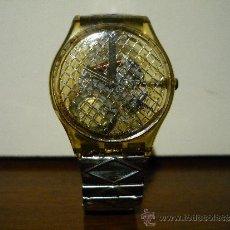 Relojes - Swatch: RELOJ SWATCH. CORREA ELASTICA.. Lote 35079561
