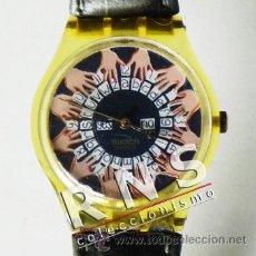 Relojes - Swatch: RELOJ SWATCH OUIJA ¿ EDICIÓN LIMITADA ? - DIFÍCIL CONSEGUIRLO - FUNCIONA - ESOTERISMO ESPÍRITUS UIJA. Lote 35929295