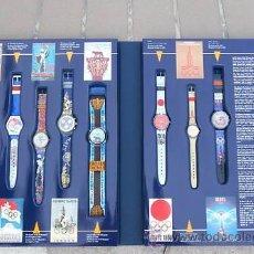 Relojes - Swatch: RELOJ SWATCH, OLIMPIADAS. Lote 36737985