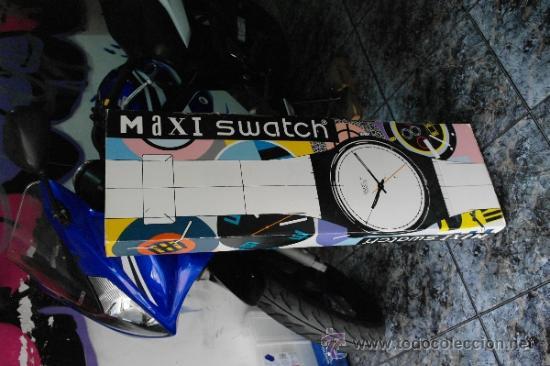 Relojes - Swatch: SWATCH GIGANTE.Funciona perfecto - Foto 6 - 173996342
