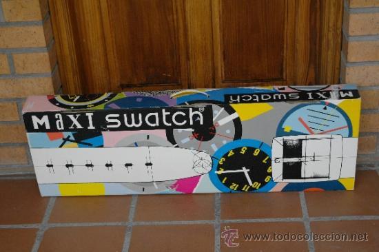 Relojes - Swatch: SWATCH GIGANTE.Funciona perfecto - Foto 5 - 173996342