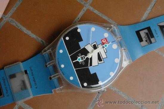 Relojes - Swatch: SWATCH GIGANTE.Funciona perfecto - Foto 3 - 173996342