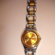 Relojes - Swatch: RELOJ DE SENORA - SWATCH IRONY- 2001. ACERO INOXIDABLE, FUNCIONA. Lote 39673749
