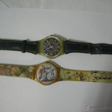 Relojes - Swatch: 2 RELOJES DE CUARZO DE LA MARCA SUIZA SWATCH - PARA REPARAR - TAL COMO MUESTRO. Lote 41021476