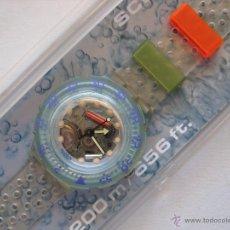 Relojes - Swatch: RELOJ SWATCH PARA COLECCION, MODELO SCUBA JELLY BUBBLES, 1991.EN SU ESTUCHE ORIGINAL. Lote 146953388