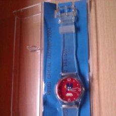Relojes - Swatch: RELOJ TIPO SWATCH XACOBEO 2004 COLECCIONISMO MUY DIFICIL DE CONSEGUIR. Lote 41236467