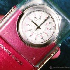 Relojes - Swatch: RELOJ SWATCH. MODELO IRONY. CAJA ROJA. ALUMINIUM. WATER RESISTANT.. Lote 41914154