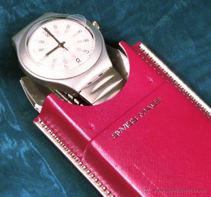 Relojes - Swatch: RELOJ SWATCH. MODELO IRONY. CAJA ROJA. ALUMINIUM. WATER RESISTANT. - Foto 3 - 41914154