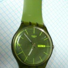 Relojes - Swatch: RELOJ SWATCH SWISS VERDE 2010. Lote 44672169
