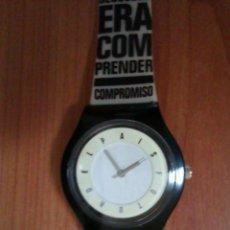 Relojes - Swatch: RELOJ TIPO SWATCH EDICION LIMITADA AÑO 2007 EMISION DEL PERIODICO ESPAÑOL EL PAIS. Lote 44833968