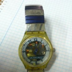 Relojes - Swatch: RELOJ SWATCH QUARTZ MUSICAL SWISS MADE. Lote 45533894