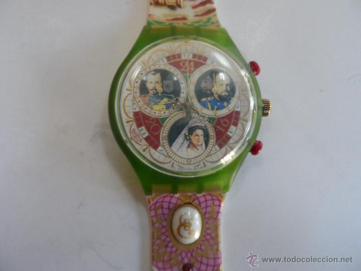 modelo En Swatch zares Directa Rusos Reloj Vendido Venta Coleccion odCxeQWrB