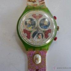 Relojes - Swatch: RELOJ SWATCH.MODELO COLECCION.ZARES RUSOS. Lote 45700558